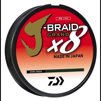 Daiwa J-Braid X8 Grand 50lb 150yd Dark Green