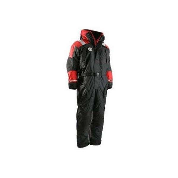 Firstwatch ULC AS-1002 Anti-Exposure Flotation Suit, Red/Black, XXL