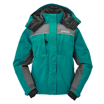 Striker Ice Women's Prism Jacket Emerald Teal/Gray 10