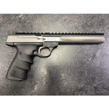 Browning Buck Mark Contour Stainless 22 LR 7' Semi Auto Pistol