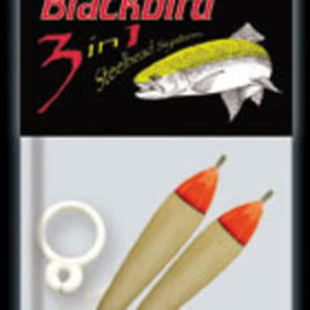 Red Wing Tackle Balsa Blackbird 3 in 1 Float. 3.5g