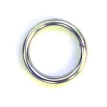 Eagle Claw Split Ring Size 8 4-pk