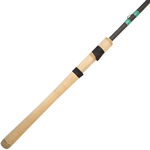 13 Fishing Omen Green 2 7'2 Med Fast Spinning Rod. 1/4-3/8oz 8-15lb