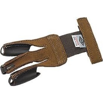 Neet Neet Tan Suede Glove Small