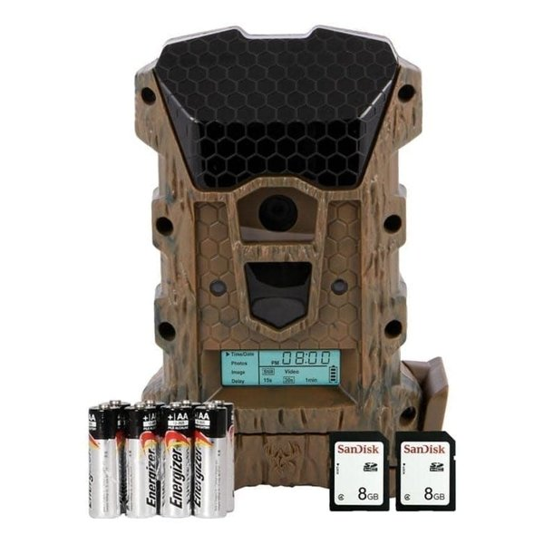 Wildgame Innovations Prizm 20MP Lightsout Trail/Game Camera Combo