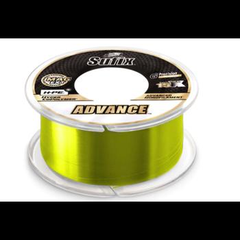 Sufix Advance Monofilament 8lb 330yds Neon Lime