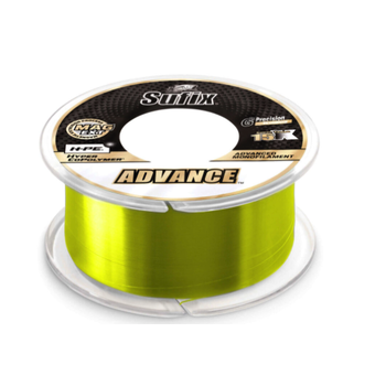 Sufix Advance Monofilament 6lb 330yds Neon Lime