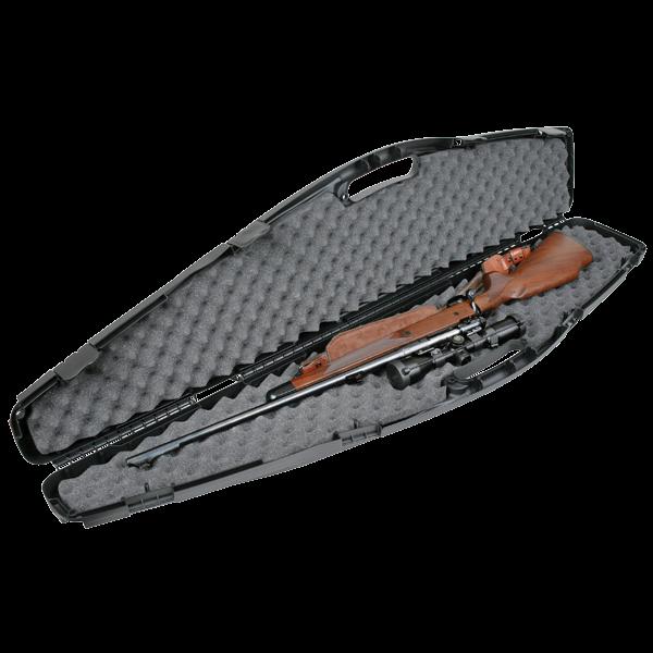 """Flambeau 6470SE Oversized Economy Single Gun Case, 4 Locking Points, Fits Scoped Rifles or Shotguns 53"""""""