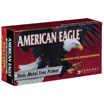 Federal American Eagle Ammo, 38 Super +P 115 gr Jacketed Hollow Point 50rds
