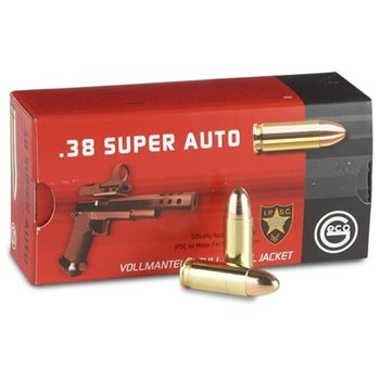 Geco 38 Super 124gr FMJ Ammunition 50/Box