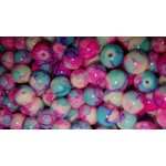 Creek Candy Beads 6mm Cotton Candy #130