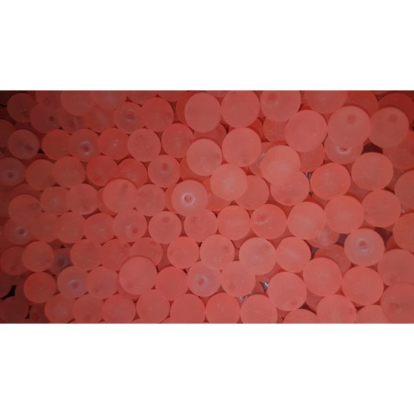 Creek Candy Beads 10mm Frosty Pink #110