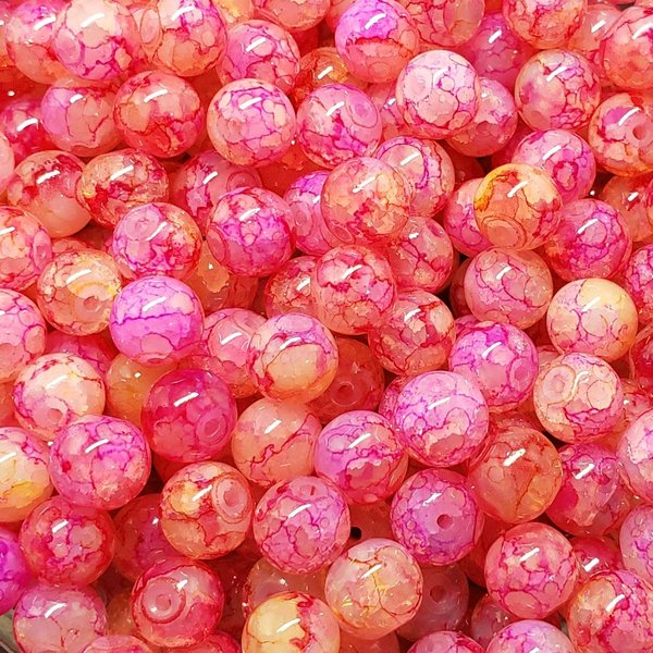 Creek Candy Beads 8mm Sour Skein Ice #257