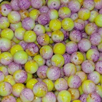 Creek Candy Beads 8mm Chrystal Meth Fusion #222