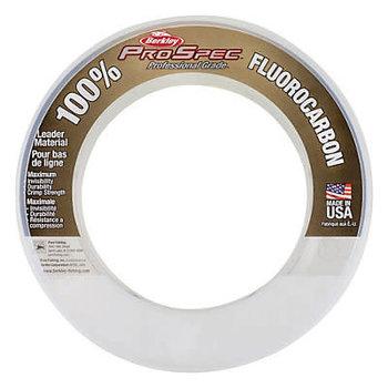 Berkley 100% ProSpec 25lb Fluorocarbon Leader Material.  100-yds Clear.