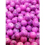 Creek Candy Beads 6mm Toxic Berry #155