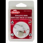 Berkley Walleye Rig Colorado #4 Double Rig #2 Hook Hammered Silver (BWRC4-HSVR)