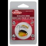 Berkley Walleye Rig Colorado #3 Double Rig #2 Hook Black Gold (BWRC3-BGD)