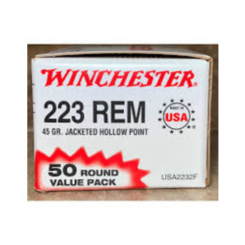 Winchester Winchester 223 Rem 45gr JHP, 50 rnds