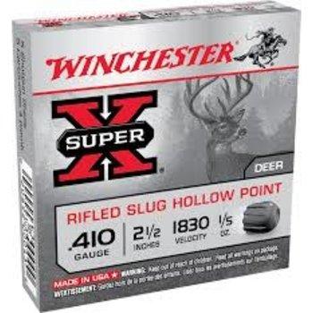 "Winchester Super-X Ammo, 410ga 2-1/2"" Slug 1/4oz"
