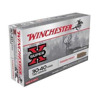 Winchester Super-X Ammo, 30-40 Krag 180gr Soft Point 20rds
