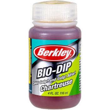 Berkley BIO-DIP Bait Dip Orange 4oz.