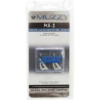 Muzzy Muzzy Replacement Blades 6pk. MX3 100gr.