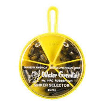 Water Gremlin Rubbercor Sinker Selector 14RC