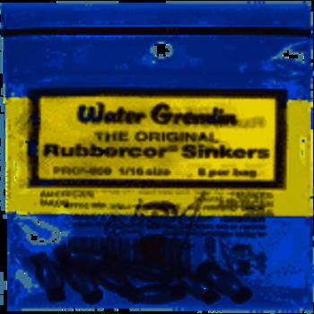 Water Gremlin Water Gremlin The Original Rubbercor Sinkers 1/16oz PRC-000