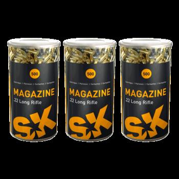 SK Magazine 22 LR Target  Ammunition Box of 500