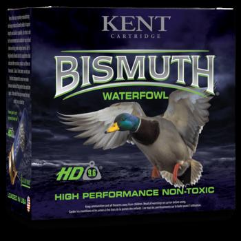 "Kent Bismuth Waterfowl Ammo, 12ga 2-3/4"" 1-1/4oz #4 Shot 1350fps Non-Toxic 25rds"