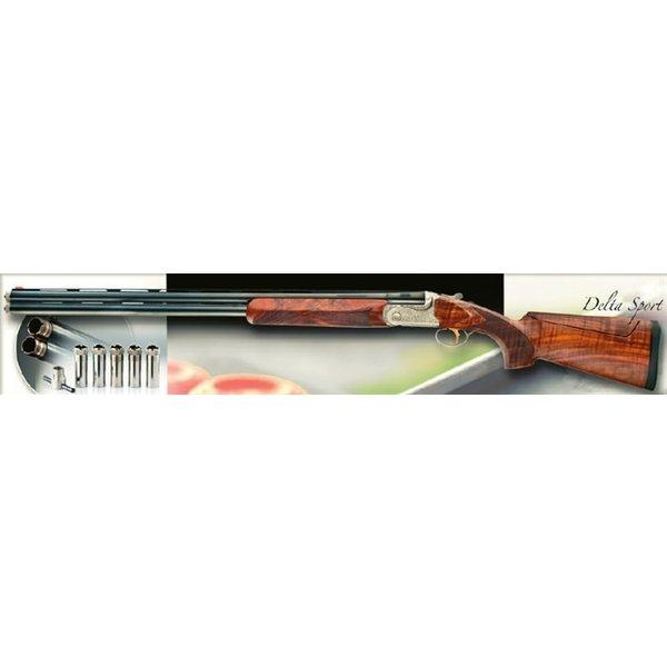 """Bettinsoli Delta Sport Shotgun, 12ga 32"""" Over/Under Barrels Adj Comb"""