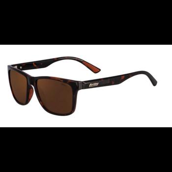 Berkley BER003 Sunglasses Gloss Turquoise/Brown (BER003TORBRN)
