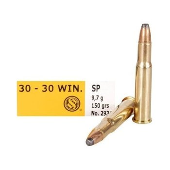 Sellier & Bellot Ammo, 30-30 Win 150gr Soft Point 20rds