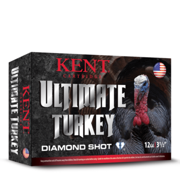 "Kent Ultimate Turkey Diamond Shot Ammo, 12ga 3"" 2oz  1175fps #6 Shot 10rds"