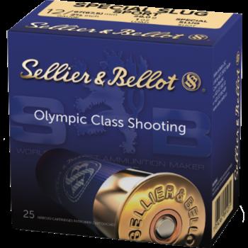 Sellier & Bellot Ammo, 12ga Special Sport Slug 25rds