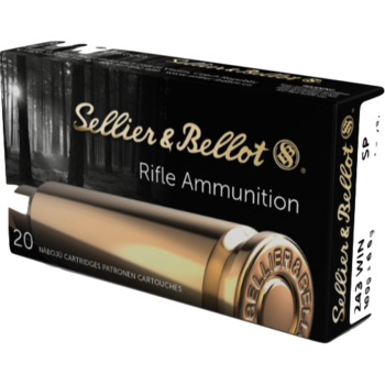 Sellier & Bellot Ammo,  243 Win 100gr Soft Point 20rds
