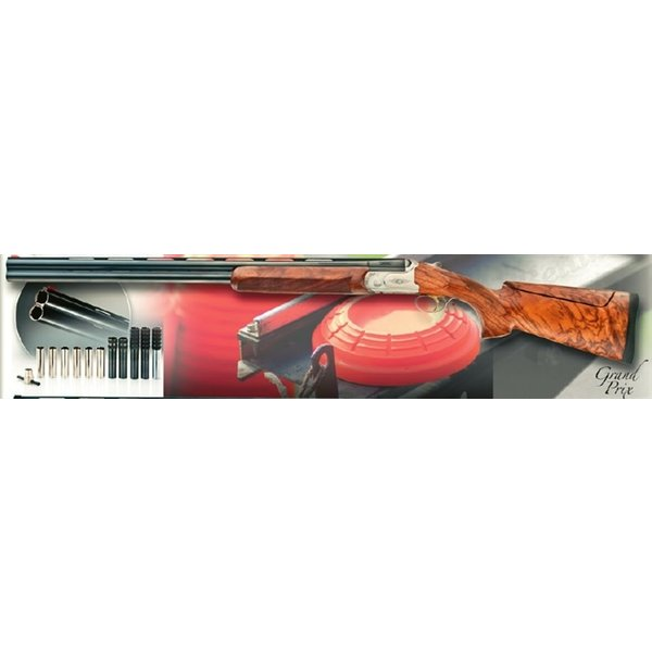 """Bettinsoli Grand Prix Shotgun, 20ga 30"""" Sporting Over/Under Barrels Adj Comb"""
