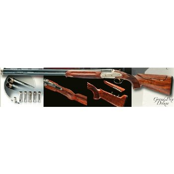 "Bettinsoli Grand Prix Deluxe Sporting Shotgun, 20ga 30"" Over/Under Barrels Adj Comb"