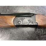 Bettinsoli Kombo Lite Blued Shotgun, 12ga/223 Rem Over/Under Barrels