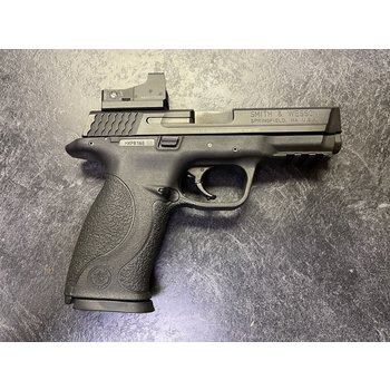 Smith & Wesson M&P 9mm Range Kit w/Burris FF 3 Red Dot & 7 Mags