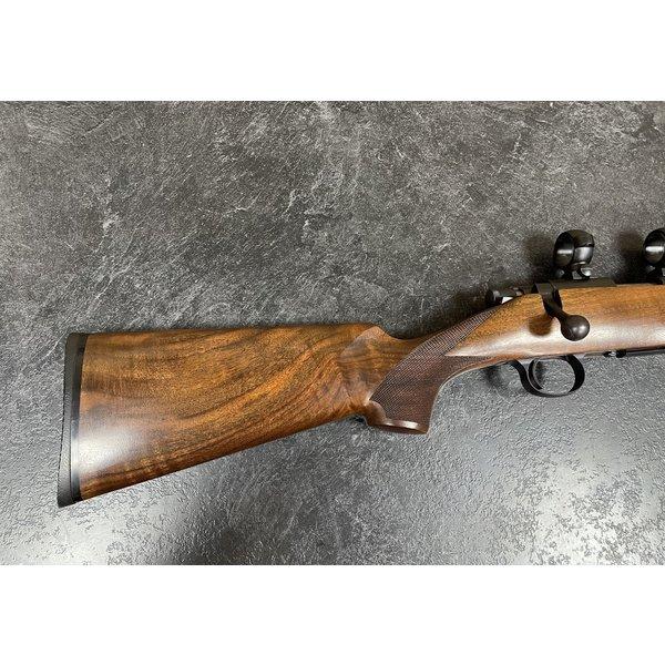 Cooper Model 57M Light Varmint Target 17 HMR Bolt Action Rifle w/Upgraded Claro Walnut Stock