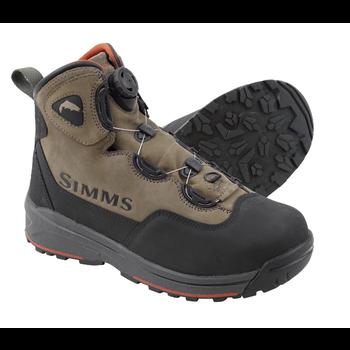 Simms Headwaters BOA Wading Boots. Vibram Sole 10 Wetstone