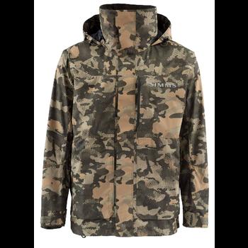 Simms Challenger Coat, Hex Flo Camo Timber, M