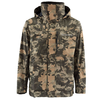 Simms Challenger Coat, Hex Flo Camo Timber, XXL