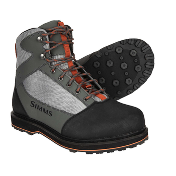 Simms M's Tributary Wading Boot. Striker Grey Rubber Sole. 12
