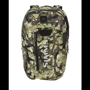 Simms Dry Creek Fishing Backpack 35L. Riparian Camo