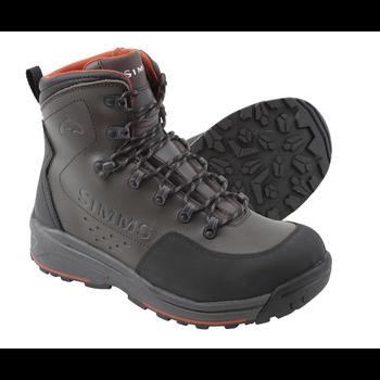 Simms Freestone Boots Rubber Sole, Dark Olive, 11