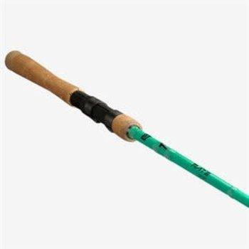 13 Fishing Fate Green 7'1Med-Light Fast Spinning Rod. 6-12lb 1/16-5/16oz