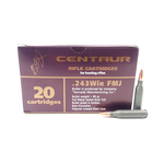 Barnaul 243 Win 90 Gr FMJ Boat Tail Non-Corrosive Polymer Caoted Steel Case 20 Rounds 24390FMJ
